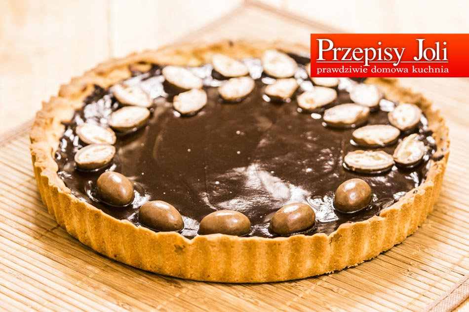 SIMPLE CHOCOLATE TART – EASY RECIPE