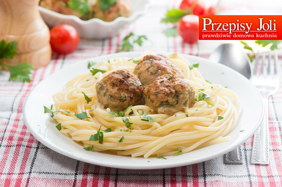 SPAGHETTI WITH BAKED MEATBALLS RECIPE