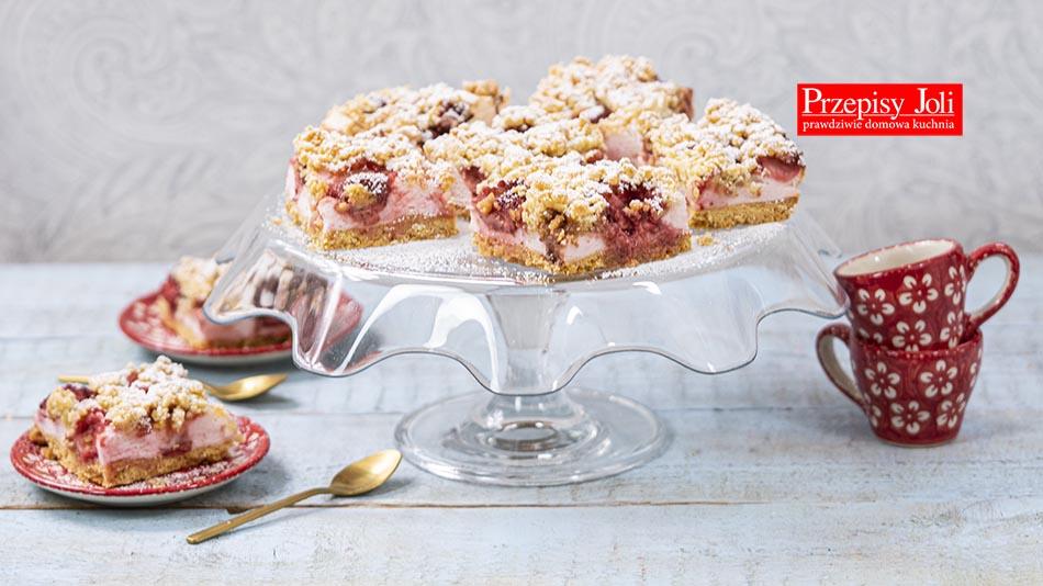 CRUSTY STRAWBERRY CAKE RECIPE