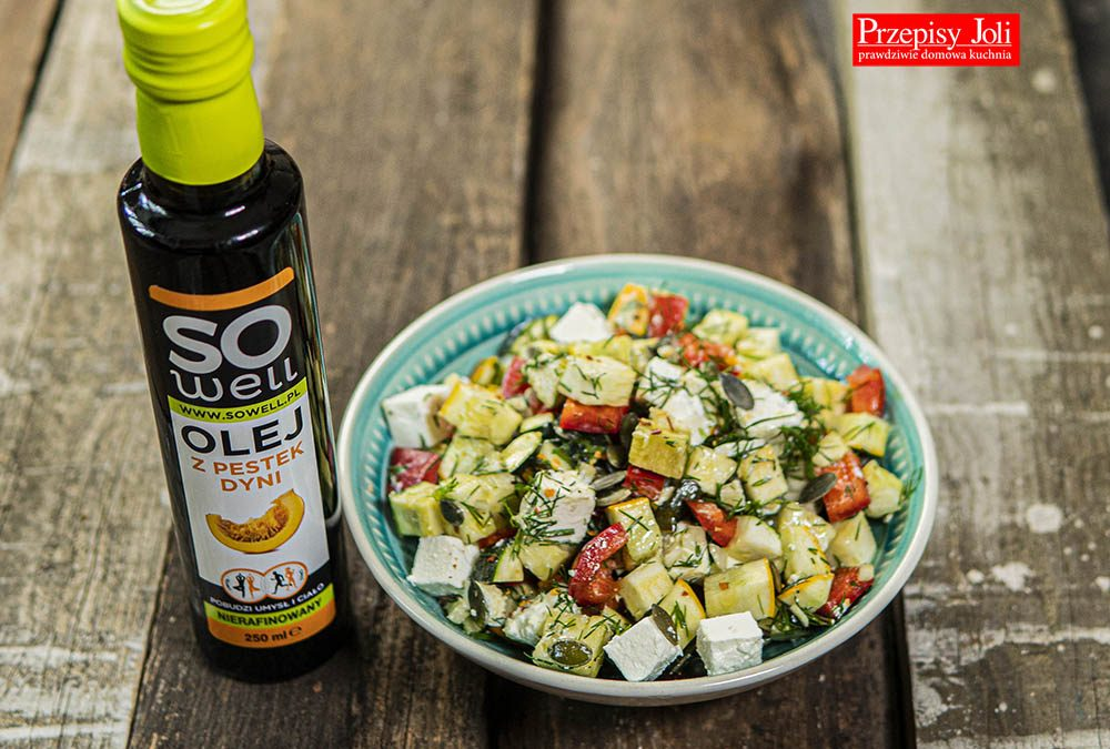 SUMMER ZUCCHINI SALAD – HEALTHY RECIPE