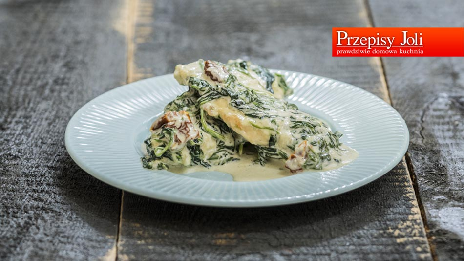CHICKEN IN SPINACH SAUCE RECIPE