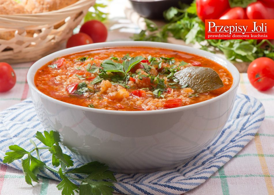 LENTIL AND PEPPER SOUP RECIPE