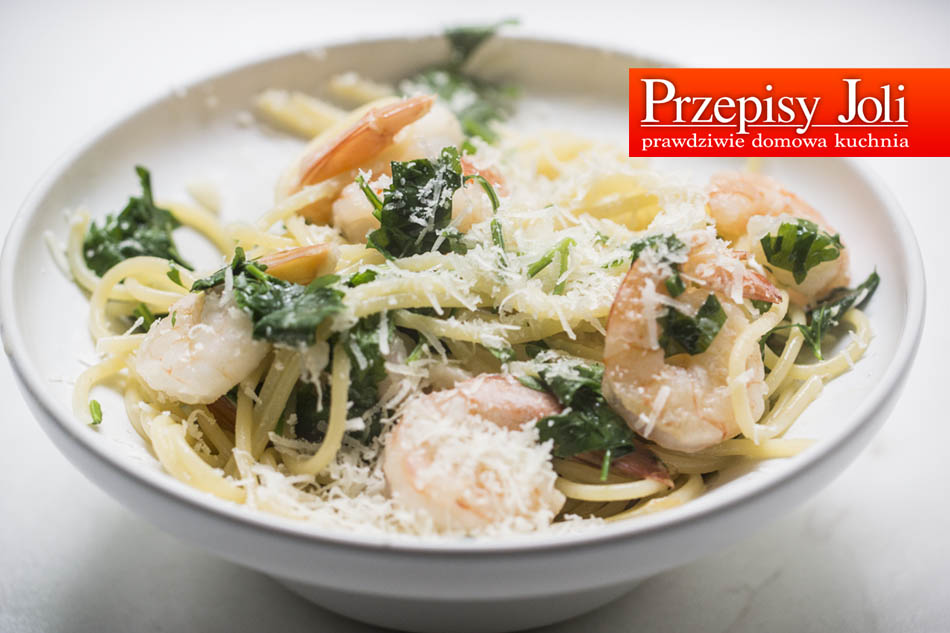 GARLIC SHRIMPS PASTA RECIPE