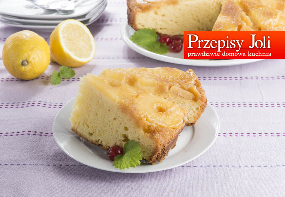 FLIPPED PINEAPPLE CAKE RECIPE