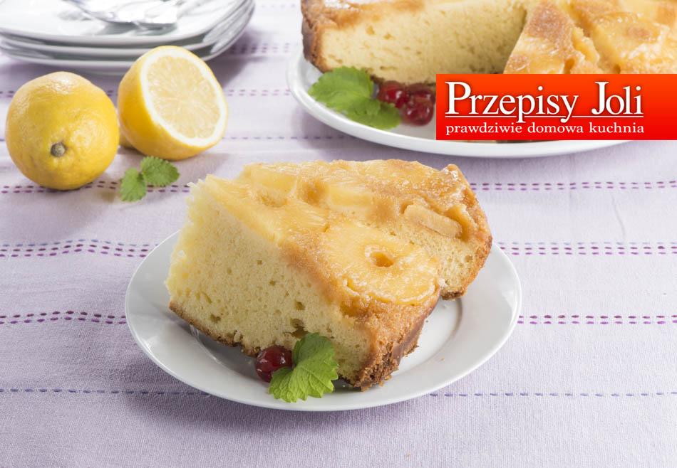 FLIPPED PINEAPPLE CAKE